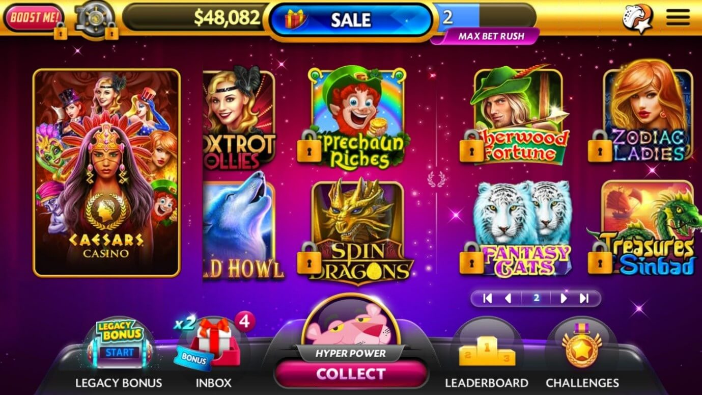 Caesars Slots Free Casino
